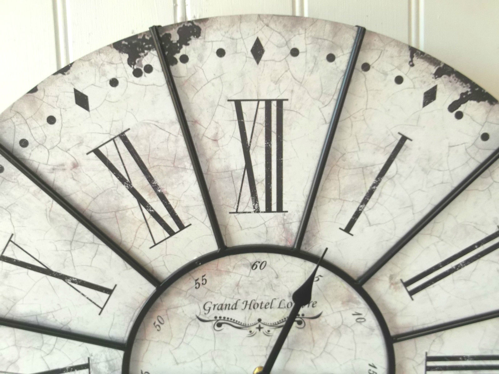 Extra Large French Shabby Chic Wall Clock – Amazing Grace ...