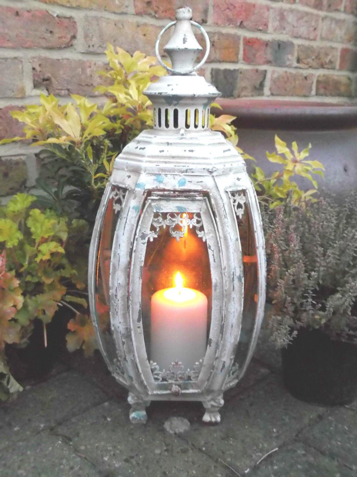 Antique French Vintage Style Large Garden Lantern Amazing Grace Interiors