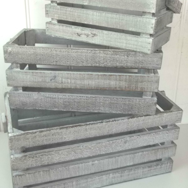 Image Result For Rustic Wooden Crates X Shabby Grey