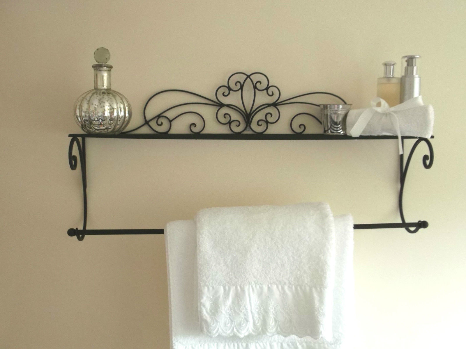 wall mount crates towel pin functional brushed barrel steel rack and towels crate mounted