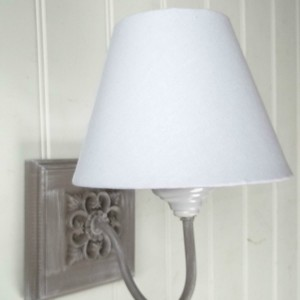 Lighting amazing grace interiors french shabby chic washed grey vintage style wall light aloadofball Choice Image